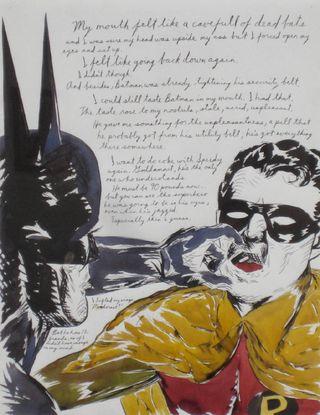 Raymond_Pettibon_My_Mouth_Felt_Like_a_Cave_of_Dead_Bats_1992_1490_419