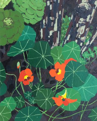 BackyardNasturtium.20inx16in.2016.1500
